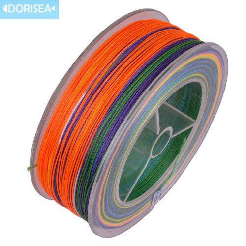 Dorisea Mega 9 Strang 100m 300M Mehrfarbig Strom Pe Dyneema Geflochtene