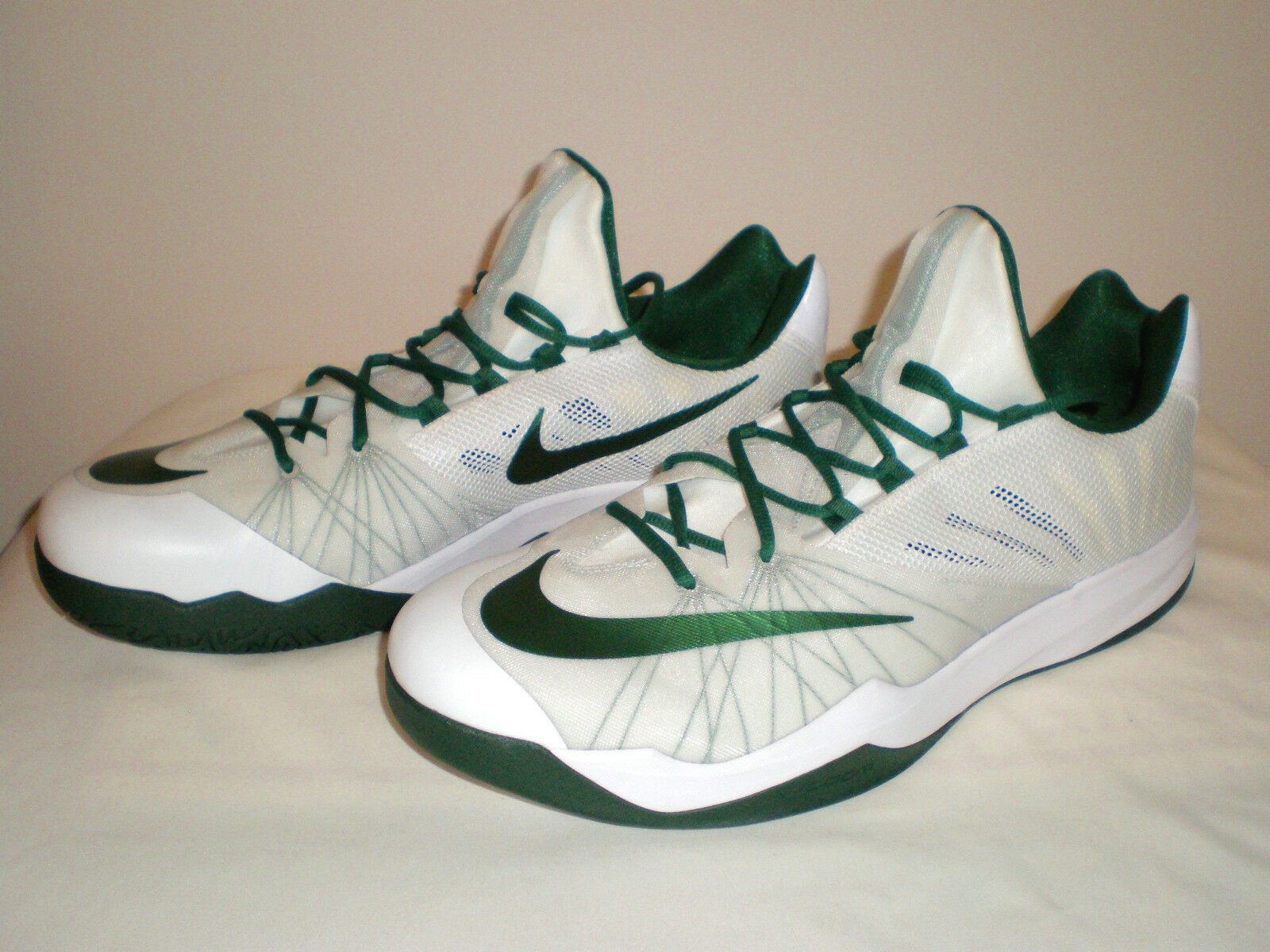 Mens NIKE Zoom Run the One Basketball Shoes Sneaker James WHITE Harden  GREEN WHITE James 18 b76f4a