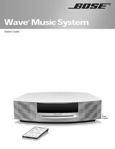 bose awrcc1 awrcc2 user manual and 3cd player manual photocopy ebay rh ebay com