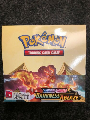 Over 400 Pokemon Cards V//Rares//Holos Darkness Ablaze Booster Box Bulk Cards