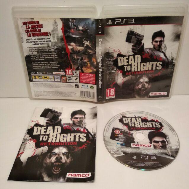 Dead To Right Retribution PS3 -Region Free jaquette française Complet - Bon état