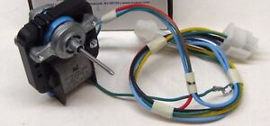 Factory New OEM 241854301 ~ Electrolux Frigidaire Fan Motor W Harness