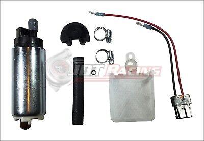 WALBRO 255LPH HP Electric Fuel Pump w// Install Kit 1989-1995 Mazda RX-7 Turbo