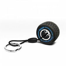 Pirelli Wet Tyre Keyring Blue