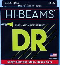 DR MR5-45 Hi Beam BASS Guitar Strings 5-string set gauges 45-125