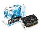MSI AMD R7 360 OC Clock 2 GB Ddr5 Graphics Card