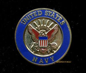 810a7db24d3 US NAVY HAT LAPEL PIN UP SEAL LOGO USN VETERAN GIFT GRADUATION ...