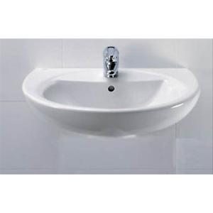 Ideal Standard Lavabi Sospesi.Lavabo Lavandino Sospeso Tenax Ideal Standard Cm 50 Ebay
