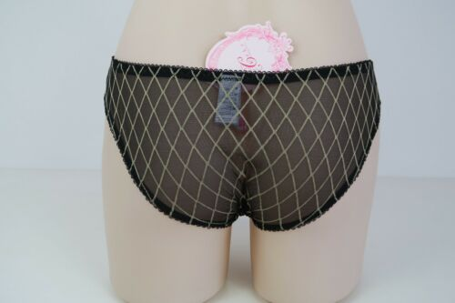 Details about  /Cake Maternity Ladies Licorice Briefs Underwear size Small Colour Black Gold
