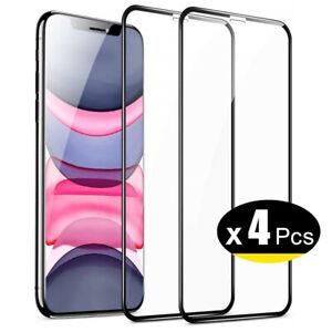 Verre Trempé Vitre Protection Ecran Film iPhone 11 12 13 Pro XS Max XR SE 8 7 6s