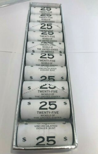 250 Nickels of the United States Never Circulated w// Box Denver 2006-D