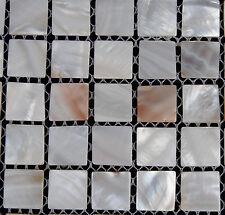 River Bed Nature Pearl Shell Mosaic  Tiles Nature Squre  Full Sheet
