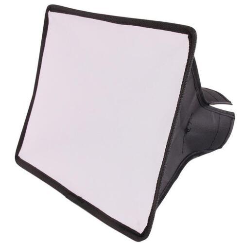 Foldable Flash Snoot Speedlite Softbox Diffuser Speedlight Reflector Bender YU