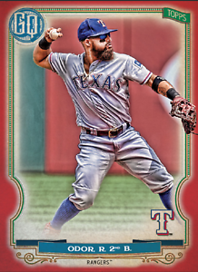 2020 Topps BUNT Rougned Odor Gypsy Queen RED Base ICONIC! [DIGITAL CARD}