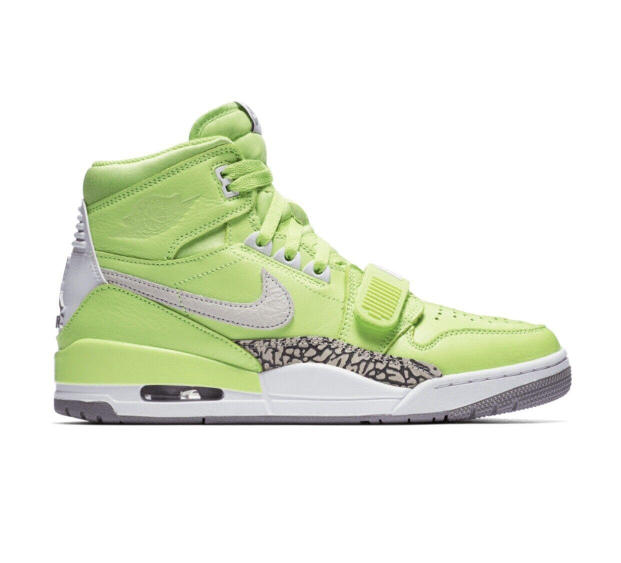 Nike Air Jordan Legacy 312 x Just Don NRG Ghost Green AQ4160 301 SZ9.5