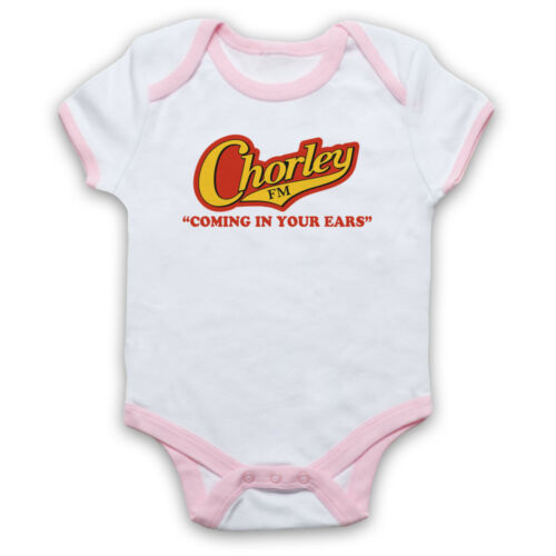 PHOENIX NIGHTS UNOFFICIAL CHORLEY FM COMING IN EARS BABY GROW BABYGROW GIFT