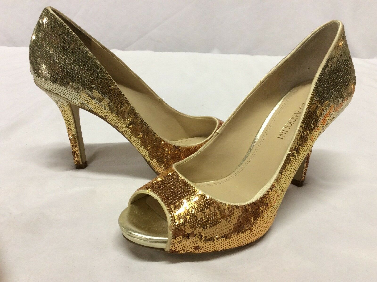Enzo Angiolini eamaiven Femme Talons Hauts Chaussures, Mariage. Or, Taille 7.5 m...   5