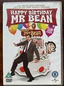 Joyeux Anniversaire Mr Bean DVD Rowan Atkinson Comédie Film Classique