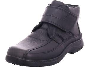 Details zu Jomos Herren Stiefel Winter warm Boots Reißverschluss schwarz