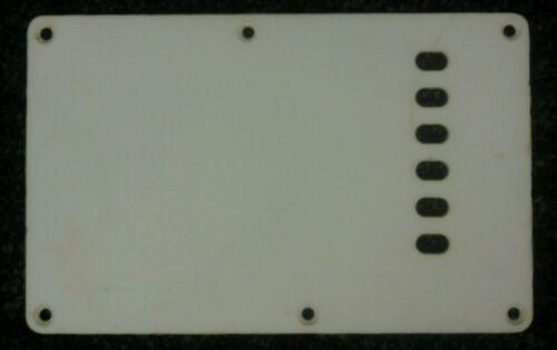 Stratocaster Strat ST tremolo bridge spring back plate cavity cover