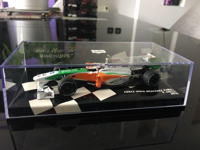 Minichamps 1/43 Force India Mercedes VJM03 GP 2010 V. Liuzzi