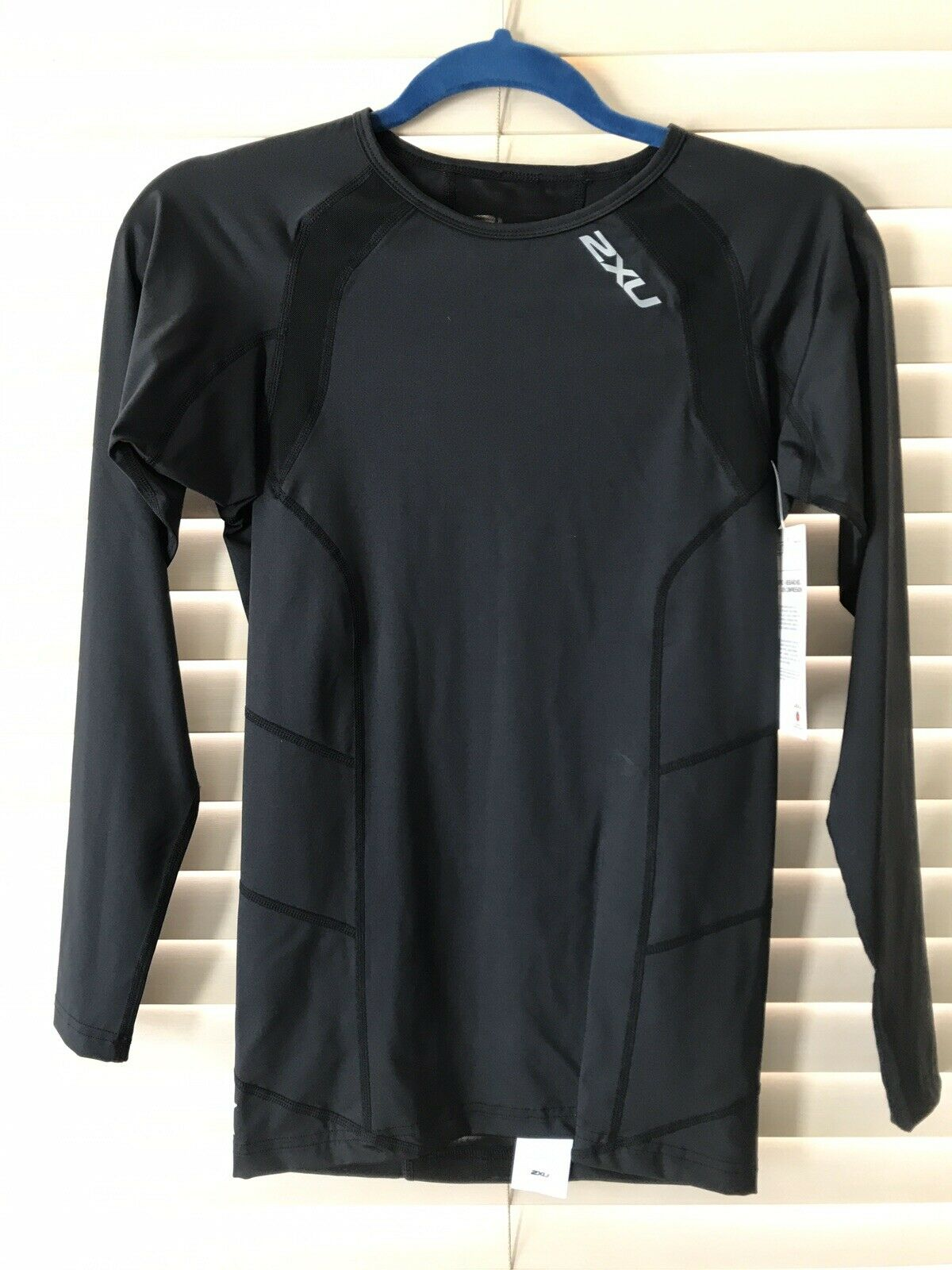 2XU Mens Long Sleeve Compression Top MA2308a-P