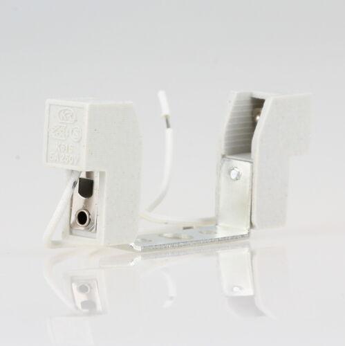 R7s Hochvolt Halogen Lampen-Fassung 6A//230V Kontaktabstand 78mm