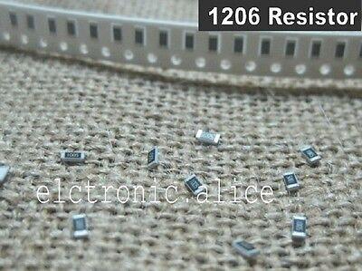 1206 SMD CHIP Resistors 100R 100 ohm 100Ω  5% J ROHS 100pcs