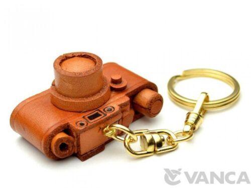Made in Japan #56801 Porte-clés Anneau Leica Camera Handmade 3D CUIR L vanca