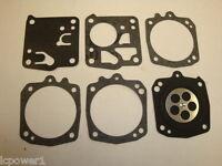 [till] [dg-10hs] Tillotson Carburetor Gasket & Diaphragm Kit Partner K650 K700