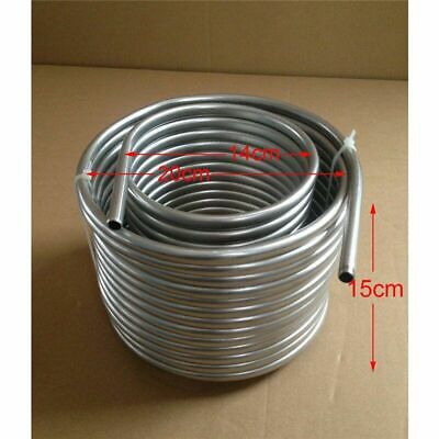 50/' Stainless Steel Coil Tube Immersion Wort Chiller Beer//Wine Cooler Home Beer