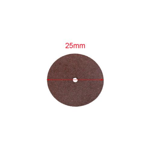 25 mm Résine Coupe Disque Roue Métal Couper Lame Set Kit pour outil rotatif 36Pcs
