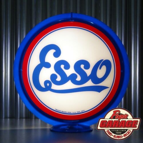 "Made by Pogo/'s Garage ESSO Gasoline 13.5/"" Gas Pump Globe"
