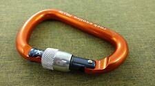 Rock Exotica PIRATE Carabiner screw lock NEW Climbing Rigging Rescue Arborist NU