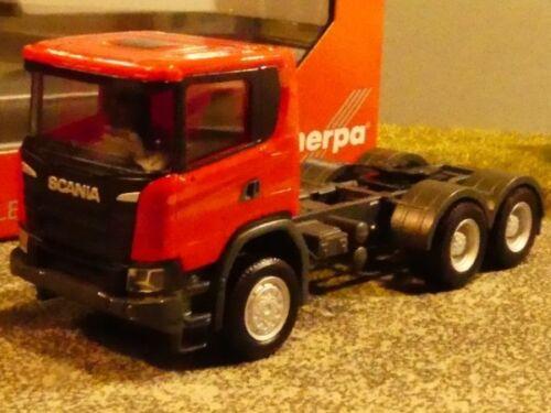 1//87 Herpa Scania CG 17 6x6 Zugmaschine 3-Achs ZM rot 309752
