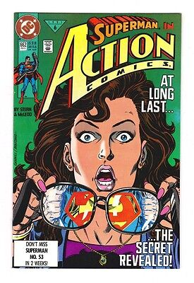 SUPERMAN IN ACTION COMICS #671 DC COMICS 1991 VF//NM
