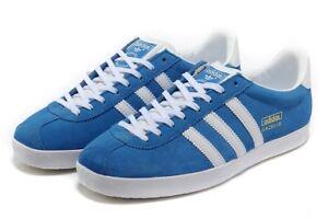 the best attitude 11e61 2e746 Adidas Hombre Azul Og Zapatillas 9 Reino Gamuza Para Unido Gazelle 5 blanco  tsdQCBrhxo