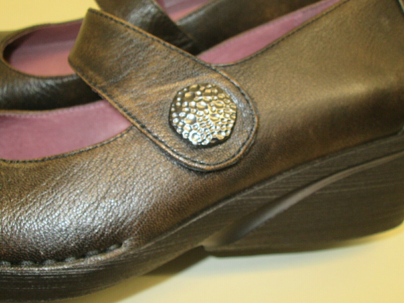 NWOB NWOB NWOB Dansko Adelle Brush Nappa Leather Mary Jane Casual shoes sz 42 brown Cute 199f21