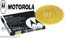 ORIGINAL BX40 BATTERY FOR MOTOROLA Z9 ZINE ZN5 i9 Stature RAZR2 V8 V9 V9m V9x U9