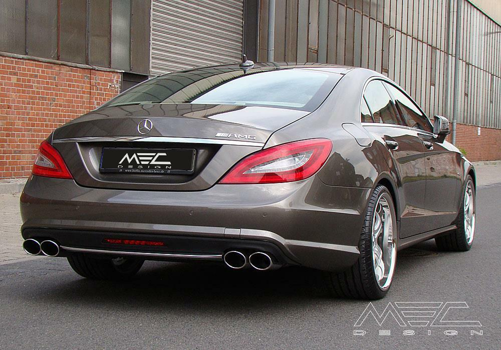 Mercedes benz cls w218 performance exhaust by mec design for Mercedes benz performance exhaust