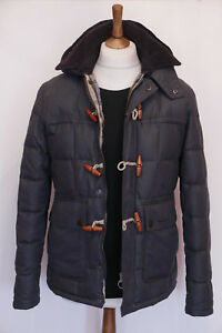 rare-300-Mens-Barbour-Skipsea-navy-hooded-parka-jacket-S-Small-36