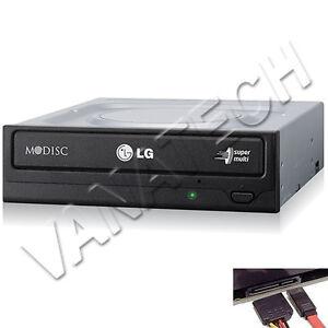 MASTERIZZATORE-LG-INTERNO-PER-PC-SATA-GH24NSD1-DUAL-LAYER-CD-DVD-NERO-BULK-GLS