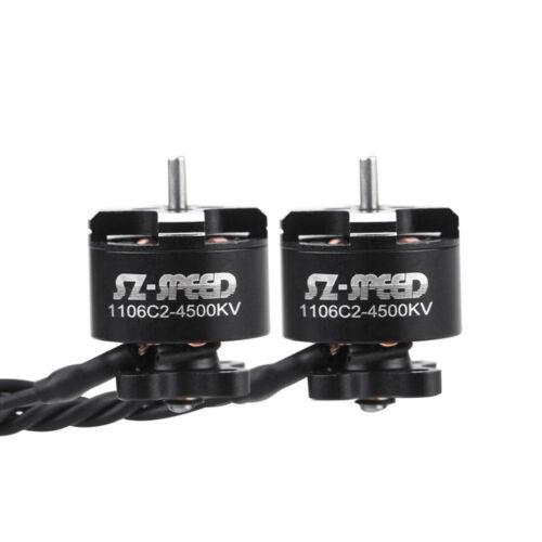 FullSpeed 1Pcs 1106 C2 4500KV 2-4S Brushless Motor for DIY FPV Racing Drone