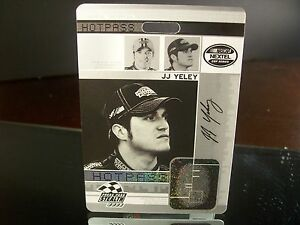 Insert-JJ-Yeley-Press-Pass-Stealth-2006-Card-HP-27-27-HOT-PASS