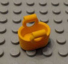 Lego New Bright Light Orange Minifigure Utensil Basket Bag Purse