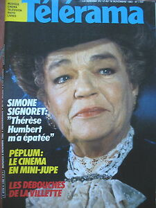 1765-SIMONE-SIGNORET-PARC-DE-LA-VILLETTE-PEPLUM-ET-MINI-JUPES-TELERAMA-1983