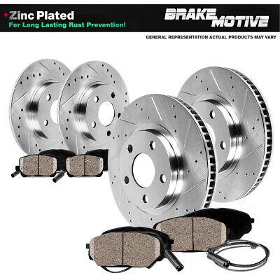Rear Drill Slot Brake Rotors /& Ceramic Pads For 2011-2015 Mini Cooper Front