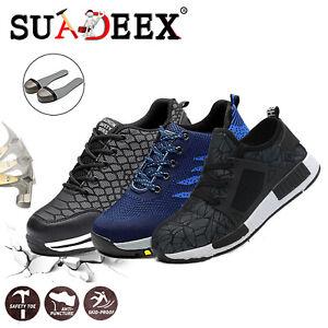 Scarpe-Uomo-antinfortunistica-S3-SRC-Scarpe-da-lavoro-basse-impermeabili-leggere