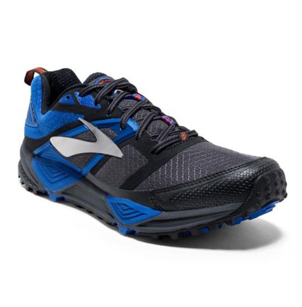 New Brooks Mens Cascadia 12 GTX Blau Waterproof Running Athletic schuhe Größe 8.5