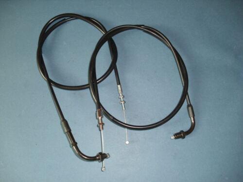 B //C Gaszug  Satz Gaszüge Set A+B throttle cable set HONDA CX 500 CX500 A